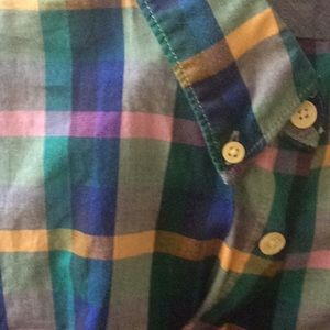 Paul Smith Multi Color Checkered Shirt